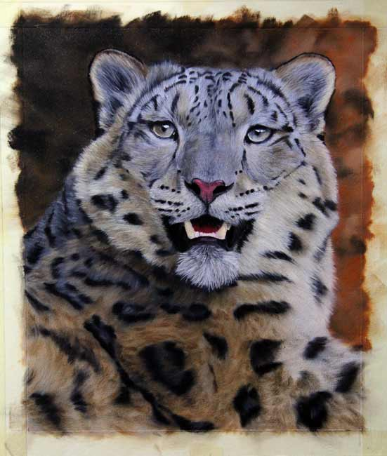 snow-leopard-painting