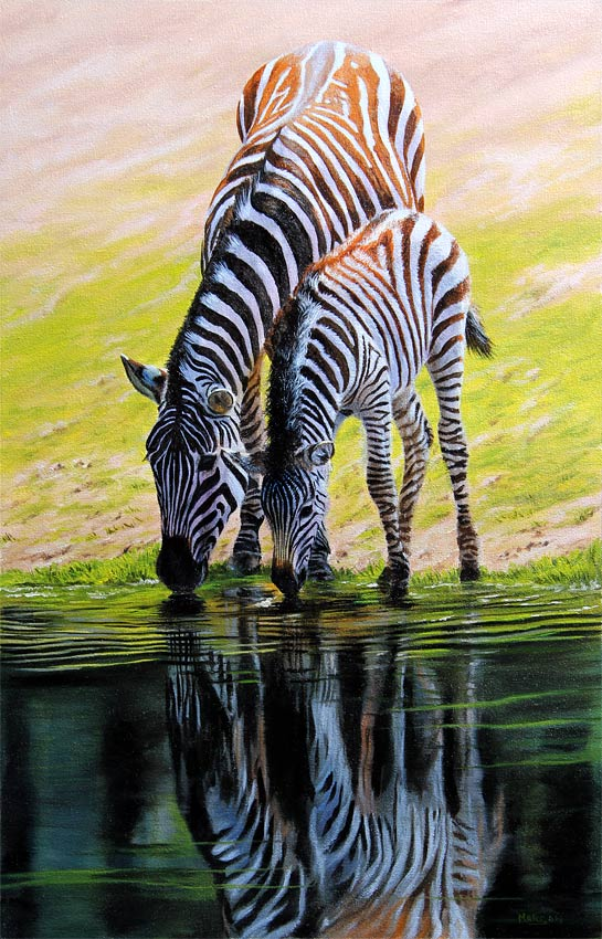 zebra-original-painting-for-sale