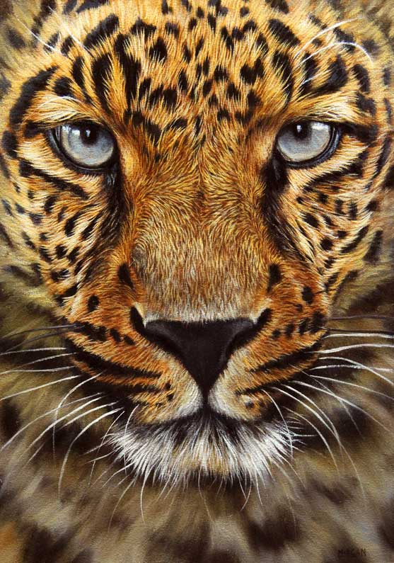 leopard painting for sale ebay