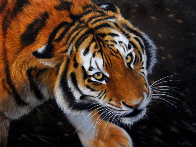 tiger painting for sale, ebay