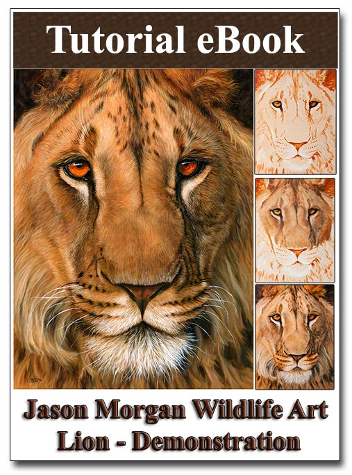 new ebook - painting a lion out now